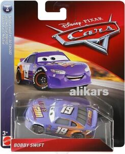 CARS 3 - BOBBY SWIFT - Disney Pixar Cars auto vehicle Mattel 1:55 scale original