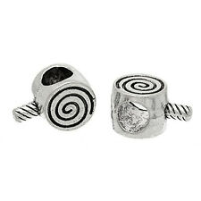 Lollipop Swirl Charm Bead for European Snake Chain Charm Bracelet