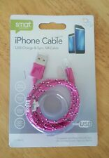 IPhone Cable USB Charge & Sync 1m cable PINK