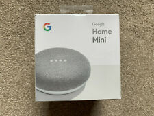 Google Home Mini Smart Assistant - Chalk - Brand New Unwanted Present