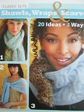 NEW CLASSIC KNITTING PATTERN BOOK SHAWLS, WRAPS & SCARVES 20 DESIGNS FOR WOMEN