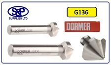 DORMER 12.4MM G136 HSS STRAIGHT SHANK 90 DEGREE COUNTERSINK BIT HSS CSK BIT 12.4