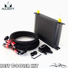 30 Row Engine Oil Cooler Kit + Sandwich Plate For BILLET LS1 LS2 LS3 LSX VE HSV