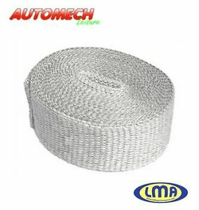 Super Quality Exhaust Heat Wrap, 5 Metre x 100mm Wide x 6mm Thick (192)