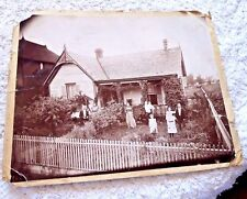 VINTAGE PHOTOGRAPH JAMES WHITTETS HOME IN DALLAS TEXAS