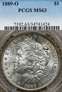 1889-O $1 PCGS MS63 Morgan Silver Dollar