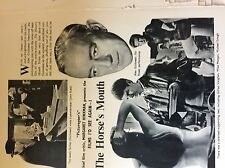 m17b6 ephemera film 1950s article alec guinness the horse's mouth