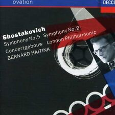 Bernard Haitink - Symphonies 5 & 9 [New CD]