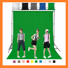 Backdrop Set Kit Stand Photography Green Screen Studio Photo Video Background