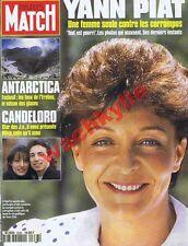 Paris Match 2338 du 17/03/1994 Yann Piat Candeloro volcan Erebus Melina Mercouri