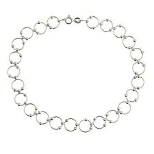 """925 Sterling Silver Bead and Link 10"""" Inch Anklet"""