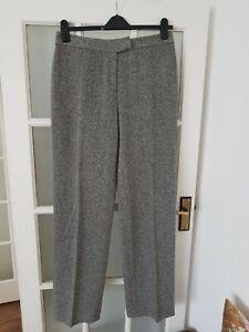 "LONG TALL SALLY wool blend casual trousers size 14  inside leg 34"""