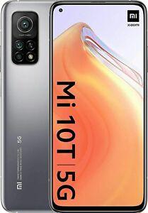 Smartphone Xiaomi Mi 10T 5G 128GB 6GB RAM Dual Sim Argento Versione Global