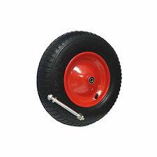 Schubkarrenrad mit Achse 4.80/400-8 4PR Rad Reifen Luftrad Ersatzrad Gartenkarre