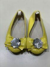 Baby GAP Yellow  Dress Shoes Ballet Flats Girl Size 7