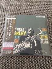 SHM SACD Cannonball Adderley Milt Jackson - Things Are Getting Better NEU MINT