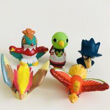 5 Flying Pokemon Figures Nintendo Bandai Pidgeot Xatu Ho-Oh Murkrow d