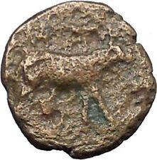 IONIA Klazomenai  350BC Very rare Ancient Greek Coin RAM Athena facing  i49507