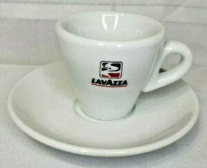 Vintage Lavazza Espresso Coffee Cup & Saucer Made By IPA in Italy NEW Never USED