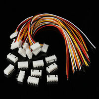 Micro JST XH 2.54mm 5Pin Connector Plug with Wire x 10 Sets