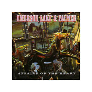 Emerson, Lake & Palmer Affairs Of The Heart CD London Records 1992