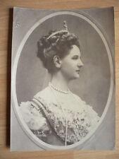 PHOTO  1900 REINE HOLLANDE