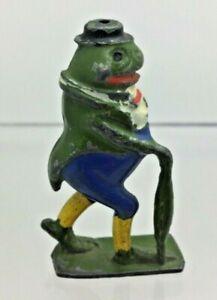 Prewar Britains Hollow-Cast Lead Cadburys Cococub - Freddie Frog (Blue Trousers)