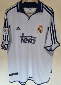 Real Madrid shirt Roberto Carlos Taille Xl camiseta rare Legend Brazil ancien