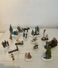 More details for hawthorne village xmas miniature figures