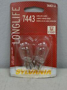 Sylvania- PN: # 7443 LL Long Life Mini Tail Light Bulbs-Sedan (New in Packaging)
