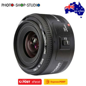 AU STOCK *Yongnuo AF 35mm f2 Wide Angle Prime Lens for Canon