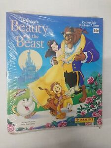 (Lot of 10) Factory Sealed Disney Beauty and the Beast Sticker Albums Panini