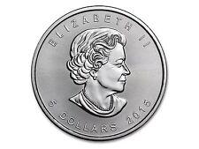 2015 $5 Canada Silver Maple Leafs - .999 Fine Silver