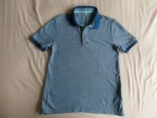 M&S Boys Blue Short Sleeve Polo T-Shirt Size 9-10 Years