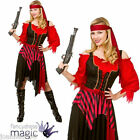 LADIES SHIPWRECKED PIRATE CAPTAIN WENCH FANCY DRESS PARTY COSTUME BOOK WEEK DAY