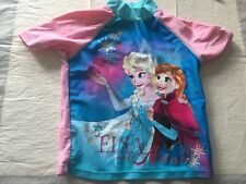 Uv sun suit top age 2-3 years frozen disney sun protection