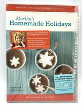 Marthas Homemade Holidays DVD 2005 Marthe Stewart Printable Recipes How To NEW