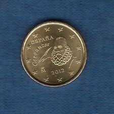 Espagne - 2012 - 10 centimes d'euro - Pièce neuve de rouleau -