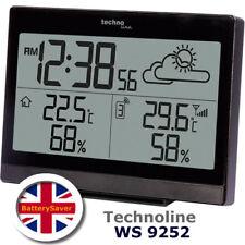 Technoline WS9252 Estación Meteorológica con temperatura y humedad interior/exterior