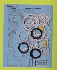 1992 Gottlieb / Premier Operation Thunder pinball rubber ring kit