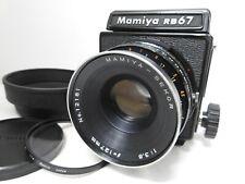 【Optics N MINT】 Mamiya RB67 PRO + Sekor 127mm f/3.8 Lens 120 Film Back Japan C