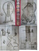 Memoires Academie Royale de Chirurgie Tome IV chez le Prieur 3 Planches 1768