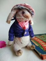 Teddy Rabbit Tom OOAK Artist Teddy by Voitenko Svitlana