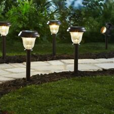 Metal Pathway Lights Bright Solar Decorative Landscape LED Outdoor Accessories