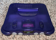 Nintendo 64 N64 Console Funtastic Grape Purple Control Deck Only Tested/Working
