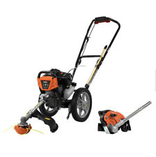 Powermate Gas 43 cc Wheeled String Trimmer Plus Edger Attachment Combo Kit