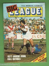 #QQ. RUGBY BIG  LEAGUE MAGAZINE-  17-23rd September 1977, GRAND FINAL
