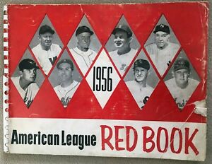 1956 American League Red Book Guide -- New York Yankees World Series Champs