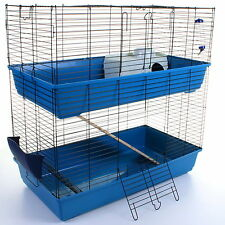 Rabbit Guinea Pig Pet Cage Hutch Indoor Cages Water Bottle House Accessories