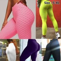 Womens Seamless Yoga Gym Leggings Camo Fitness Shark Push Up Run Jogging Pants